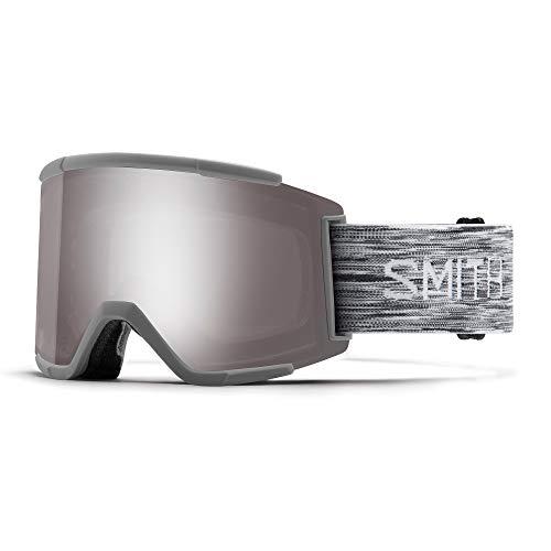 Smith Optics Squad XL Gafas de Esquí, Unisex Adulto, Gris (Cloud/Sun Platinum Mirror), L