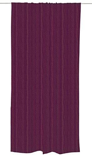Vallila Kerttu, Grafik Muster, Vorhang 140x250 cm, Burg&y, Baumwoll-Mischgewebe, lila, 250 x 140 cm