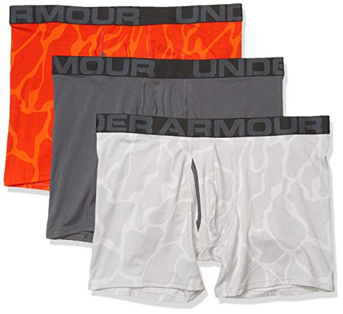 "Under Armour Charged Cotton 6"" Novelty Boxerjock - 3 Pack Now $16.50 (Was $45.00)"