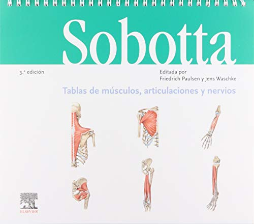 Sobotta. Tablas de músculos, articulaciones y nervios (3ª ed.)