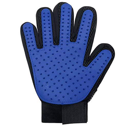 WANDE Haustier-Massage-Handschuhe Silikon Comb Haarentfernung Handschuhe Verstärkte Fünf-Finger, Design Geeignet Für Lange Und Kurze Haare Katzen Und Hunde