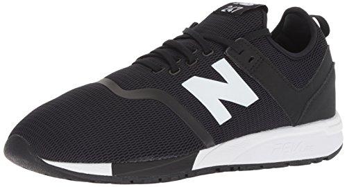 New Balance Herren MRL247D5 Sneaker, Schwarz (Black/White D5), 41.5 EU