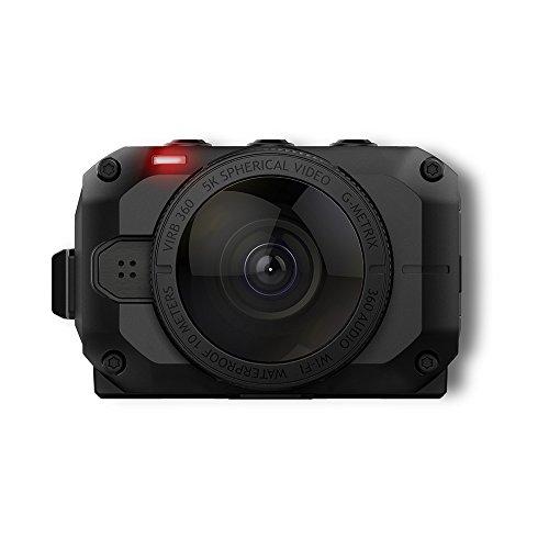 Garmin VIRB 360-Degree Rugged Waterproof Camera with 5.7K Resolution and 4K Spherical Stabilisation, Black
