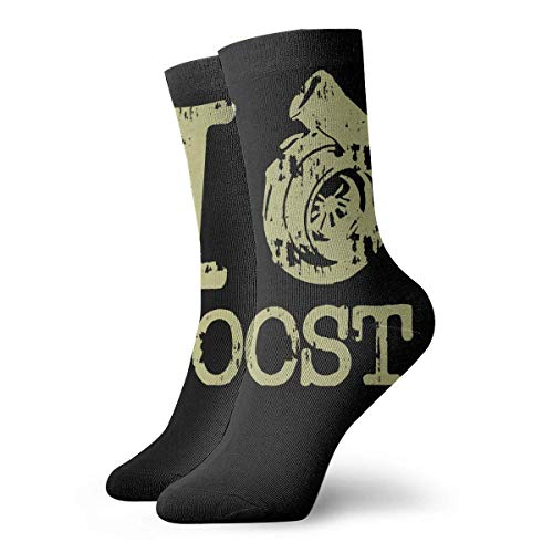Jwohek I Love The Boost 30cm Long Socks Athletic Cotton Leisure Stockings