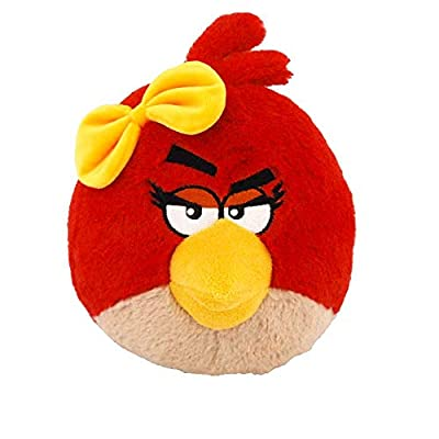 Angry Birds Plush 5-Inch Girl Red Bird with Sound