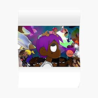 Lil Uzi Vert Vs The World Poster - For Office Decor, College Dorm, Teachers, Classroom, Gym Workout And School Halloween, Holiday, Christmas Party ! Great Inspirational Wall Art Poster.