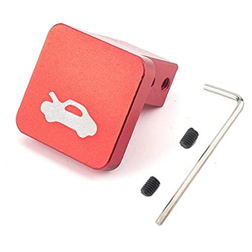 EElabper Pestillo de la Cubierta Manija de Hood Cable pestillo de la Cubierta de Salida Capucha Pestillo de liberación Manija reemplazo abrelatas para Honda Civic CR-V (Rojo)