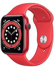 AppleWatch Series6 (GPS, 44-mm) kast van PRODUCT(RED) aluminium - PRODUCT(RED) sportbandje