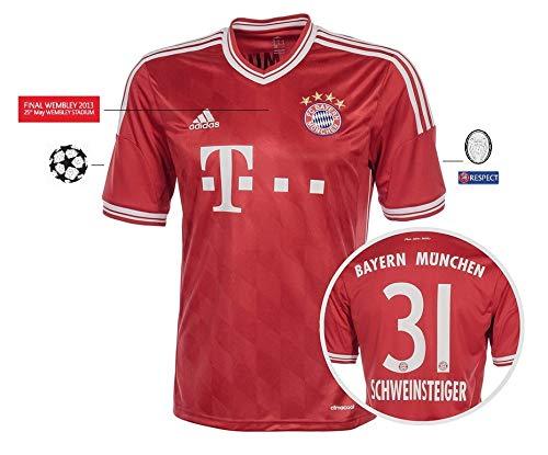 Trikot Herren Champions League Finale Wembley 2013 - Schweinsteiger 31 (L)