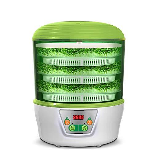 LTLWSH Germinador,Bandejas de Semillas eléctrico, 1.25L Bandeja Brotar de Semillas Natto, Vino de arroz, máquina de...