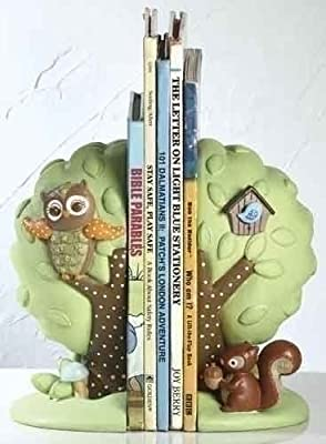 Learning To Fly Baby Owl Bookends * Catholic Baptism Child