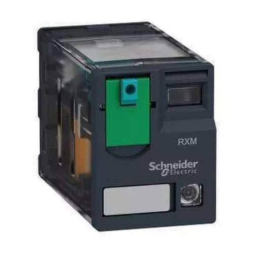 Telemecanique Sensors RXM3AB2BD Relé de Miniatura Enchufable con LED, Zelio RXM, 24 V CC, 3 CA