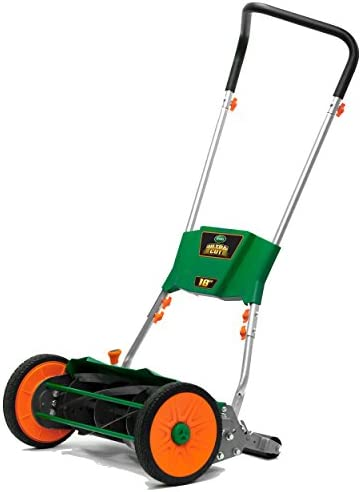 Scotts Outdoor Power Tools 515 18S Ultra Cut Reel Lawn Mower 18 Inch Green product image