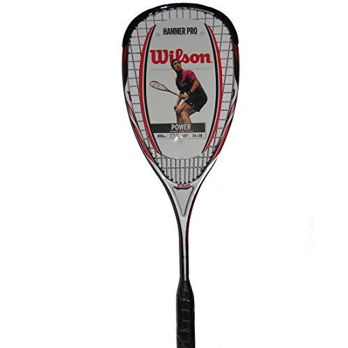 Wilson Hammer Tech Lite Raqueta de Squash Peso en la Cabeza, Unisex,...