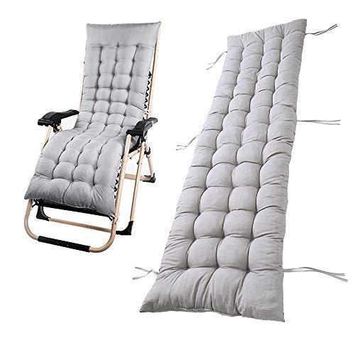 Tumbona sillón reclinable y Lounge de almohadilla cojín Patio jardín hamaca al aire libre cubierta