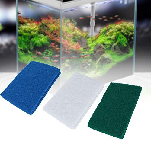 Aquarium filtersponzen, 3 stuks biochemical Sponge Media Block Foam Pad mat voor aquarium