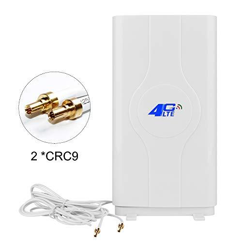 NETVIP 4G Antenna CRC9 LTE 49dBi Dual Mimo 3G/4G Amplifica il Segnale Ethernet con Funzione di Ripetitore Amplificatore di Segnale per la Banda Larga Mobile di Wifi Router