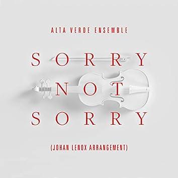 Sorry Not Sorry (johan lenox arrangement)