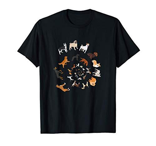 Infinite Dogs, Love Dogs, diseño divertido de perros para Camiseta