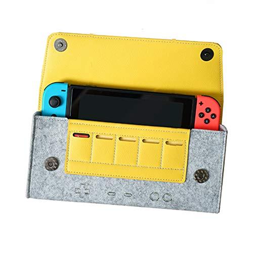 LSXX Commutateur Sac de Protection Sac de Transport pour Nintendo Console Switch Accessoires pour Nintendo Commutateur,Gris