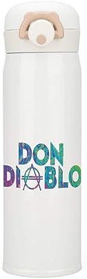 Don Diablo オランダのDJデビル 3 水筒 魔法瓶 ステンレスボトル 500ml 真空断熱 保温コップ 保冷コップ 最大24時間保温
