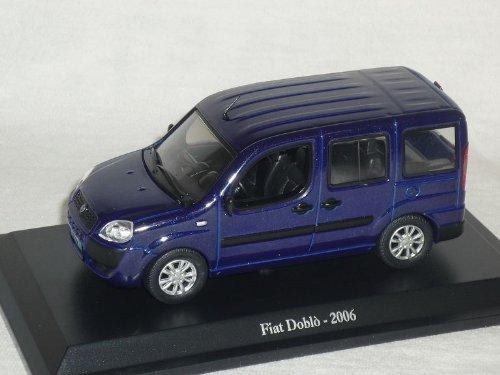 mächtig der welt Unbekannter Fiat Doblo 2006 Blau 1/43 DeAgostini Modellauto Modellauto