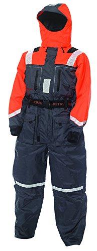 Kinetic Schwimmanzug, verfügbar in den Größen XS - XXXL in der Farbe Orange/Grau, für mehr Sicherheit und Komfort (XL)