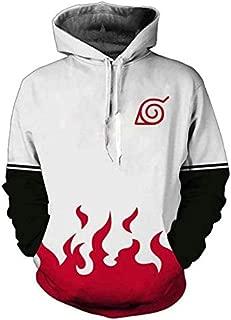 3D printing Hoodie Sweater NARUTO Long sleeves Cosplay zipper tops