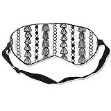 Yutess Happy Birthday Schlafmaske, Augenmaske, leicht, bequem, Unisex für Reisen, Arbeit, Meditation, Personalisiert