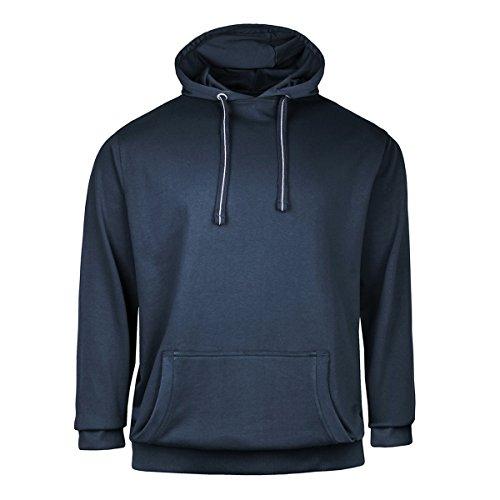 Redfield Kapuzen-Sweatshirt Navy Übergröße, XL Größe:10XL