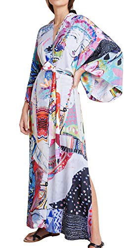 Orshoy Kimono Cardigans Bademode Pareos Morgenmantel Langarm Kimono Damen Nachthemd Nachtwäsche Pyjama Bademantel Sexy Saunamantel