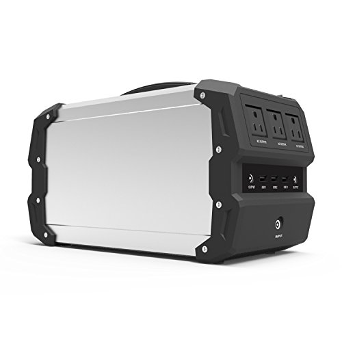 ExpertPower Alpha 400 444Wh Lithium Polymer Powered Portable Generator with 400W Inverter, 12V Car Socket, USB Socket and more for CPAP, Camping, and Emergency Use Portable Power Station