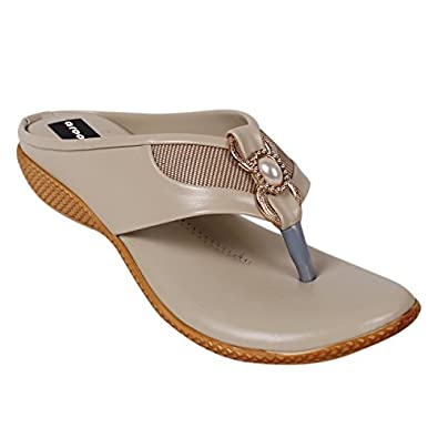 AROOM Synthetic Leather Casual Comfortable Flat Sandal