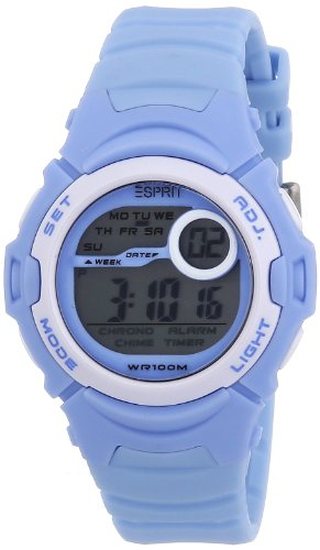 Esprit Unisex-Armbanduhr Sports Adventurer Digital Quarz Resin ES906464003