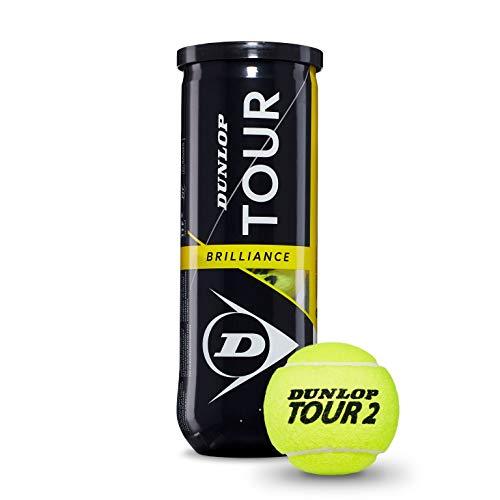 Dunlop Tour Brillance Pelotas Tenis