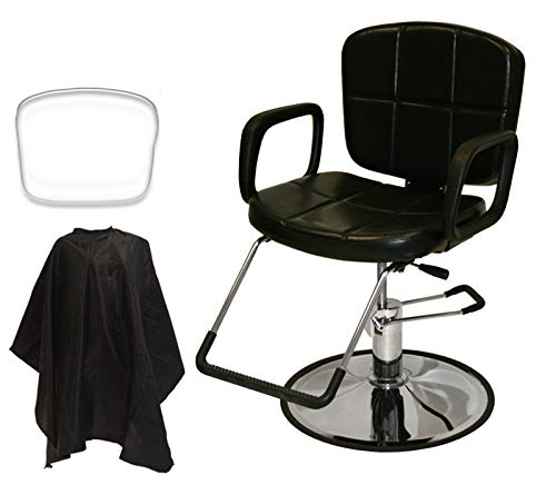LCL Beauty Reclining Hydraulic Salon Barber Chair