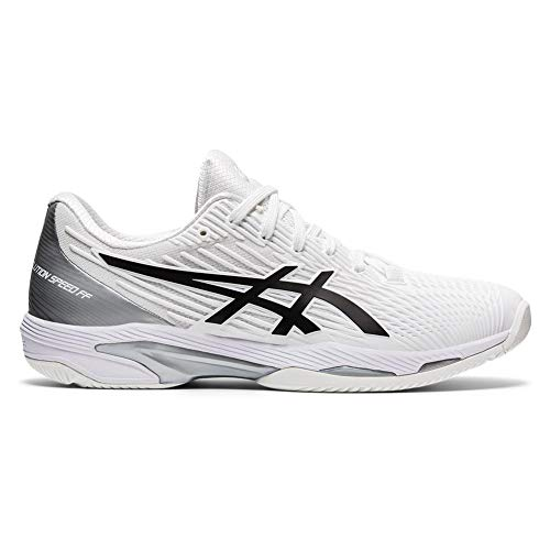 Product Image 3: ASICS Men's Solution Speed FF 2 Tennis Shoes, 10.5, White/Black