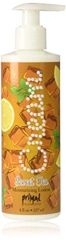 Primal Elements Moisturizing Lotion Sweet Tea 8 Ounces (Pack of 3)