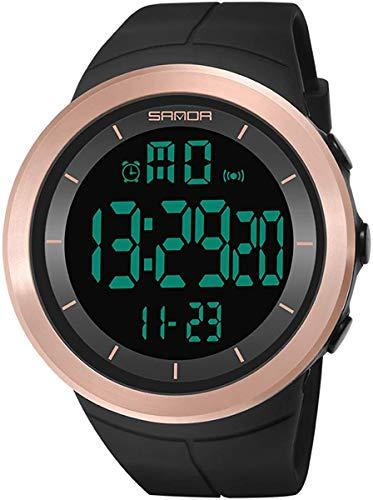 Gymqian Deporte Digital Militares Reloj de Los Hombres Relojes de Ejecución de Mujeres Natación Cronómetro Ladies Impermeable Al Aire Libre Del Reloj de Alarma Reloj de Pulsera el uso dia