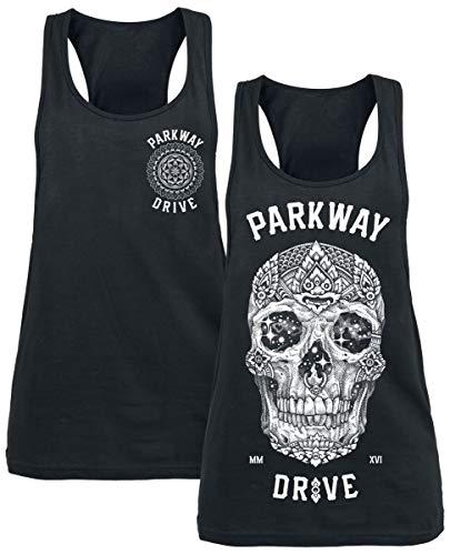 Parkway Drive Girl-Top Doppelpack Frauen Top schwarz M 100% Baumwolle Band-Merch, Bands