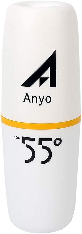 Leyo ロールオーバーイメージで誰でもズームできる最高のスポーツウォーターボトル、55度まで温水をシェイク、アウトドアベビーウォーターボトル、ステンレススチール、傷防止ハンド