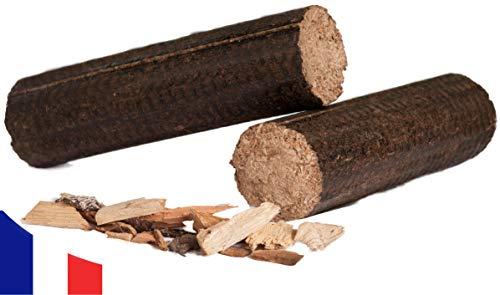 Holzbriketts Hartholz 100% - Lange Briketts - 24 kg