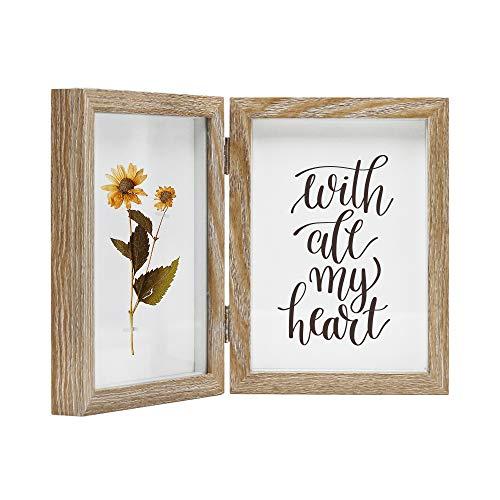Afuly Holz Bilderrahmen 13x18 Doppelt Collage Fotorahmen 2 Teilig Mehrere Bilders Familie Hochzeit Geschenke