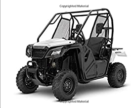 Honda Pioneer 500: 120 pages with 20 lines you can use as a journal or a notebook .8.25 by 6 inches.
