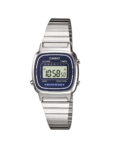 Casio Damen-Armbanduhr XS Casio Collection Digital Quarz Edelstahl LA670WEA-2EF