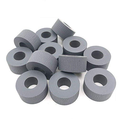 100% Mangko - 10 neumáticos de rodillo de alimentación de papel para Xerox 133 C123 C128 1632 2240 3535 5500 5550 7700 7760 DN 5225 5230 7228 7232 7 235 7 245 7328 7335 7345 7346