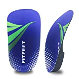 Orthotic Inserts 3/4 Length, High Arch Support Foot Insoles for Over-Pronation Plantar Fasciitis...