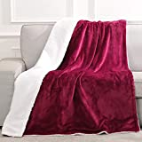 MaxKare Electric Blanket Heated Throw Flannel Blanket Fast Heating with 6 Levels