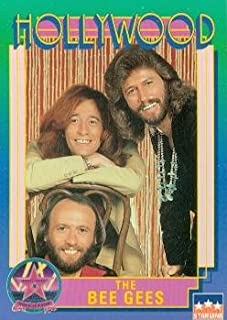 The Bee Gees trading Card (Singers) 1991 Starline Hollywood Walk of Fame #94