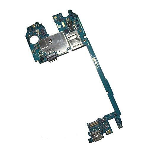 DXPSLGrvd 100% origina for el Tablero LG G3 Placa Base d855 16 GB Desbloqueado de fábrica de Placa Base for LG G3 d855 Totalmente Chips Android OS IMEI (Color : D850-32G)